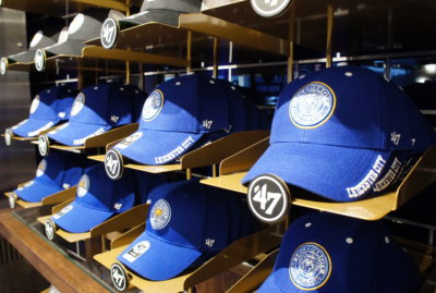 47 Brand Visual Merchandising Leicester City Hat Close up