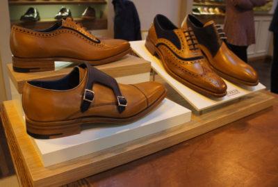 Barker Shoes Retail Glorifier Angled Close Up