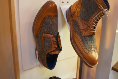 Barker Shoes Point of Sale Close up