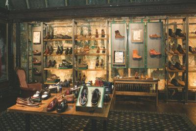 Bass Shoes Glorifier and Shop Design