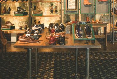 Bass Shoes Retail Design