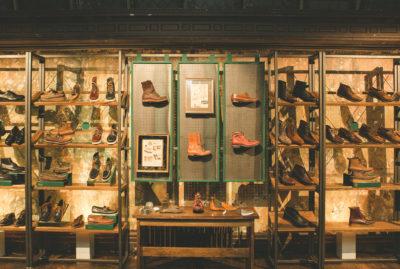 Bass Shoes Visual Merchandising