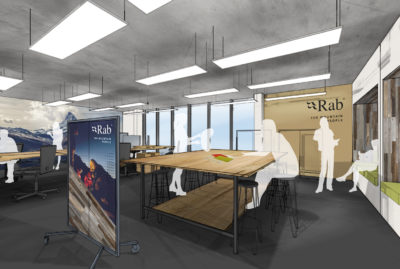 Rab The Mountain People Concept Work Space
