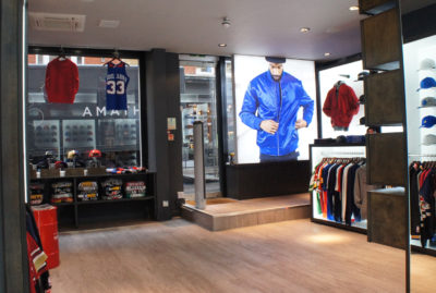 Mitchell & Ness Shop Display