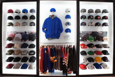 Mitchell & Ness Visual Merchandising