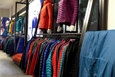 Rab Coat and Jacket Point Of Sale