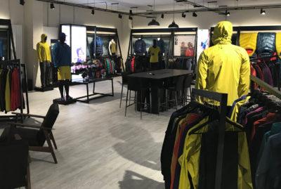 Rab Full Shop Retail Merchandising