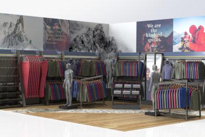 Rab Full Shop Retail Design Concept