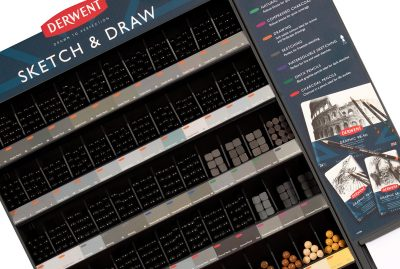 Derwent Sketch and Draw Retail Merchandising