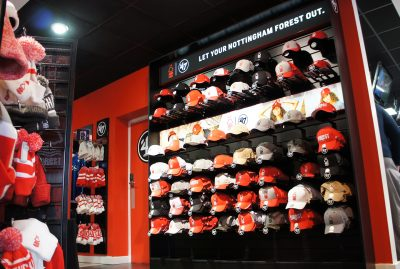 AA-Creative Nottingham Forest club shop point-of-sale 1